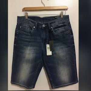 Buffalo by David Bitton; Jean shorts